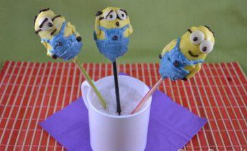 Minions cake pops