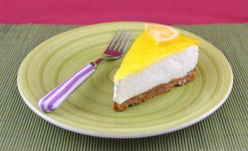 Torta fredda al limone