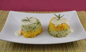 Sformatini di riso vegani