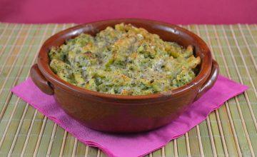 Pasta gratinata ai broccoli