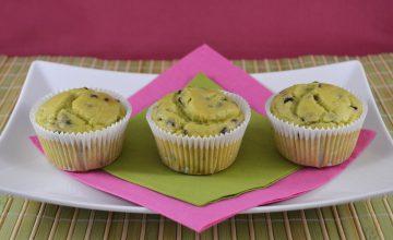 Muffin avocado e cioccolato