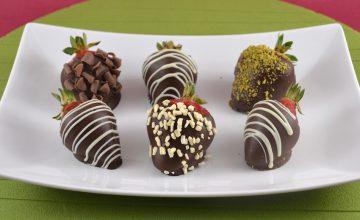 Fragole al cioccolato