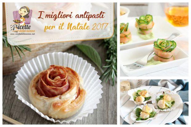 10 Antipasti Di Natale.Ricetta 10 Antipasti Facili E Veloci Per Le Feste Di Natale 2017 Da