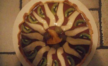 Crostata di cioccolato e frutta