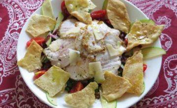 Fesa di tacchino in insalata