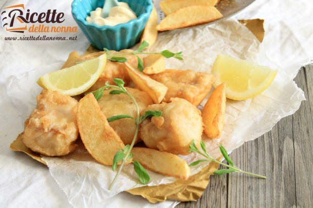 Fish and chips senza glutine