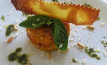 Sformatino di carote al profumo di pesto