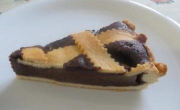 Crostata tenera di pere e cioccolato