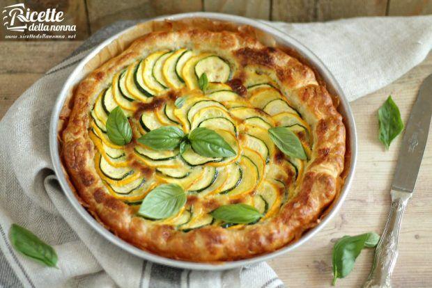 Torta rustica alle zucchine