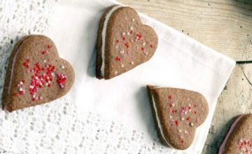 Biscottini al cioccolato con ripieno