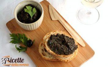 Bruschetta alla crema di olive