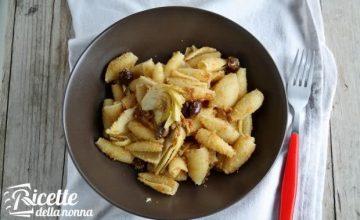 Castellane con le olive e i carciofi