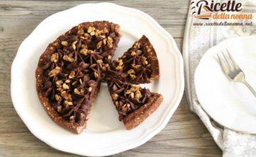 Crostata avena e cioccolato