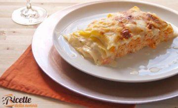 Lasagne zucca e ricotta