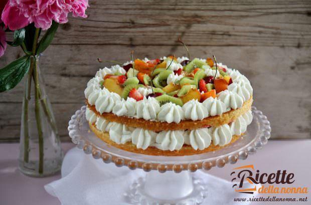 Happy Cake: Torta di Compleanno Fragole e Panna Senza Glutine