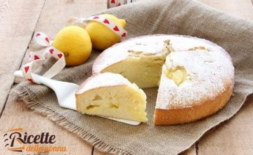 Torta sofficissima alla crema di limone