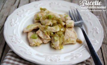 Spezzatino di pollo al Marsala