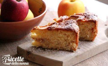 Torta di mele e clementine