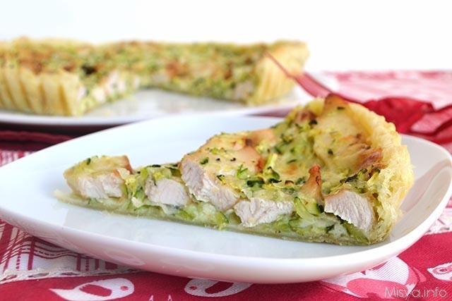 Ricetta Torta Salata Con Pollo E Zucchine Da Misyainfo In Frigo