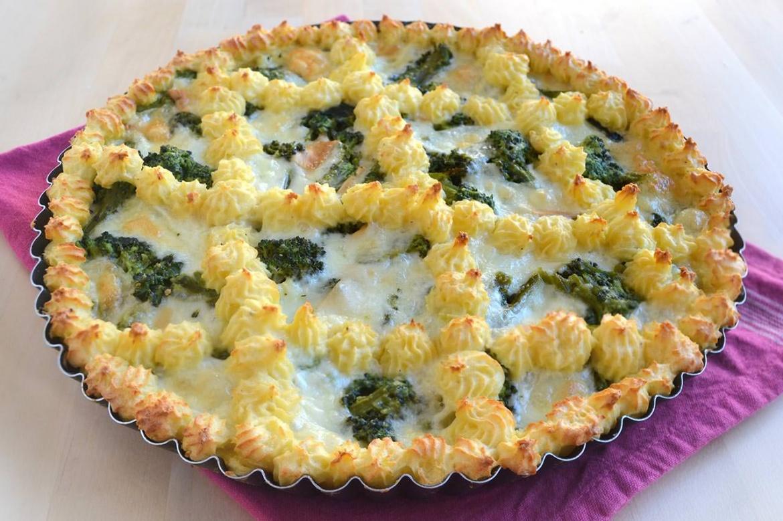 Ricetta Crostata Di Patate Con Broccoli E Provola Da Misyainfo