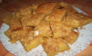 Torta di arachidi