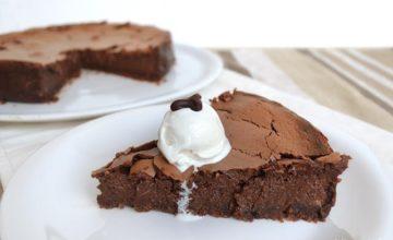 Cheesecake al cioccolato e zenzero