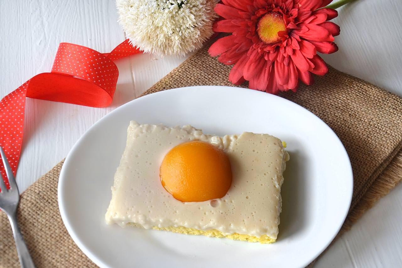 Spiegeleierkuchen (Torta uova al tegamino)