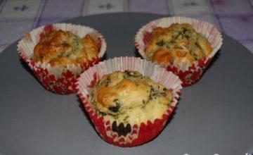 Muffin salame e friarielli