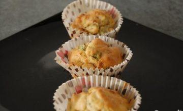 Muffin alle zucchine e pancetta