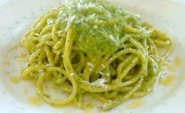 Pasta con crema di zucchine