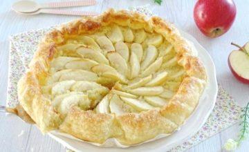 Torta di mele con pasta sfoglia