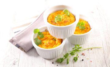 Flan di zucca e porri: lo sformatino di verdure vegano