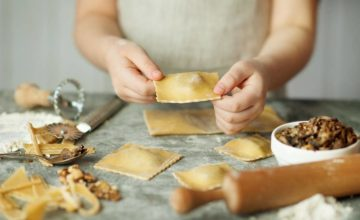 Buonissimi ravioli ai funghi porcini e noci: perfetti per chi ama la pasta fatta in casa!