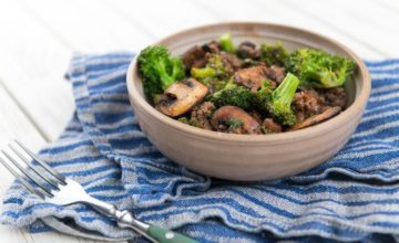 Broccoli e funghi in agrodolce: un contorno saporito!
