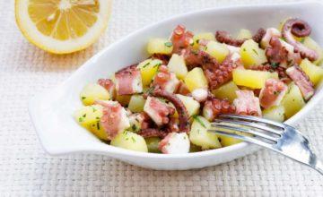 Polpo e patate: una ricetta light, fresca e golosa