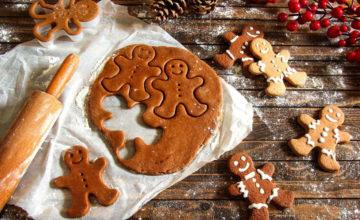 Non è Natale senza i deliziosi omini di pan di zenzero speziati!