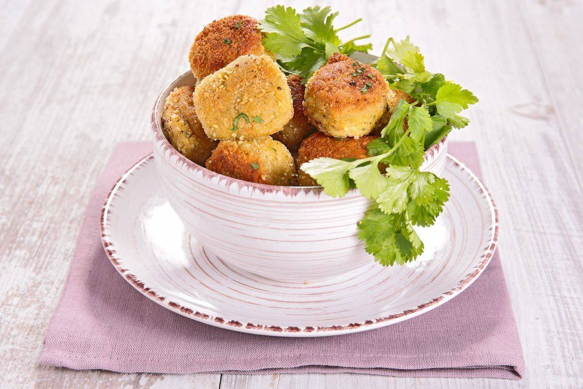 Polpette di polenta e pomodori secchi: uno sfizio 100% gluten free