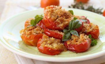Pomodori gratinati: un contorno delizioso e velocissimo!