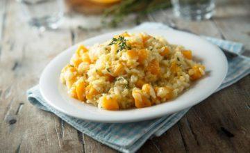 Ecco come preparare un ottimo risotto zucca e taleggio: è super cremoso!