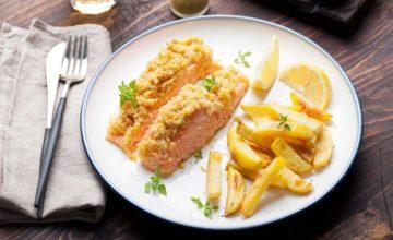 Salmone con zenzero fresco in crosta: come rendere un piatto semplice ricco di sapore!