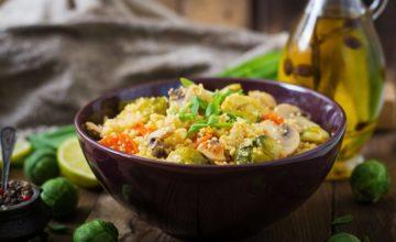 Sorgo ai funghi senza glutine: un piatto perfetto per l'autunno