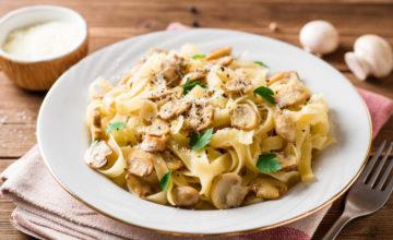 Tagliatelle ai funghi: la ricetta del primo piatto sfizioso!