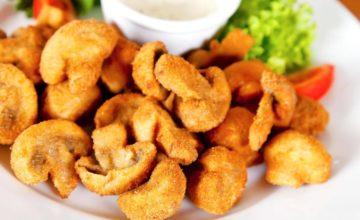 Funghi dorati, fritti e croccanti: non esiste ricetta più sfiziosa!