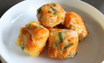 Fishcakes di salmone e verdure