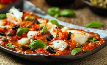 Merluzzo alla pizzaiola