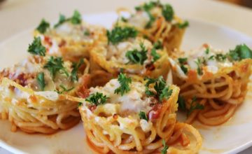 Muffins di spaghetti