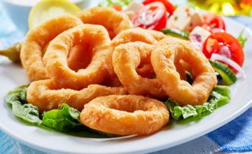Onion rings – Anelli di cipolla fritti