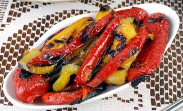 Peperoni arrostiti al forno