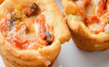 Pizzette mignon al prosciutto