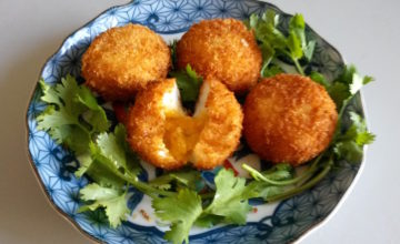 Polpettine di pesce e riso